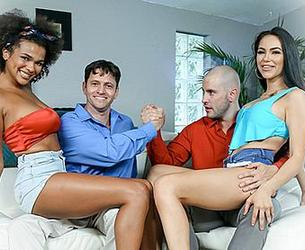 [DaughterSwap.com / TeamSkeet.com] Alina Ali & MJ Fresh - The Potion [2020.08.10, All Sex, Foursome, FFMm, Ebony, Big Ass, Big Tits, Blow Job, Brunette, Cowgirl, Cum In Mouth, Doggystyle, Facial, Fake Tits, Indoor, Step Dad, 1080p]