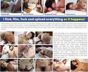 [FilipinaSexDiary.com] Filipina Sex Diary / Sex Dnewnik Filippinki (45 rolikow) [2012 g., Blowjob, Masturbation, Cumshot, Facial, Creampie, Oral, Asian, 720p] Chast' 1