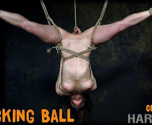 [HardTied.com] Cora Moth (The Wrecking Ball / 15.01.2020) [2020 g., BDSM, Humiliation, Torture, Whipping, 720p]