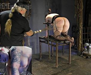 [SensualPain.com] Prunkle - Big Swats Little Prunkle (20.09.2020 g.) [2020 g., BDSM, Caning, Flogging, Spanking, Slapping, Stockings, SiteRip, 1080p]