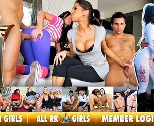 [CFNMsecret.com / RealityKings.com] (33 rolikow) Clothed Female Nude Male Secret / Odetye zhenschiny – Razdetye muzhchiny [2009 g., CFNM, Lesbo, Big Tits, Anal, Facial, Orgy, CamRip]