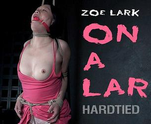 [HardTied.com] Zoe Lark (On A Lark / 18.12.2019) [2019 g., BDSM, Humiliation, Torture, Whipping, 720p]