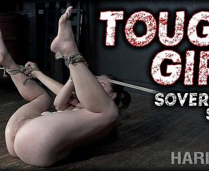 [HardTied.com] Sovereign Syre (Tough Girl / 16.10.2019) [2019 g., BDSM, Humiliation, Torture, Whipping, 720p]