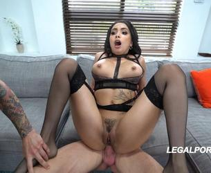 [LegalPorno.com] Aaliyah Hadid is a BEAST..1st ever DP! Took it like a Fucking pro MUST WATCH AA005 / 29.01.2018 [DP, Gape, Big tits, A2M, Toys, Anal, 1080p]