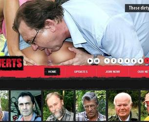 [OldPerverts.com / Maniacpass.com] Old Perverts / Starye Izwraschency (8 rolikow) [2012 g, All sex, Old Men, Teen, SiteRip] chast' 3