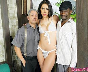[DreamTranny.com] Mariana Lins / Asked To Be DAP'd Again (22 May 2020) [2020 g., Shemale, Hardcore, Bareback, Threesome, Ass Licking, DAP Double Anal Penetration, Cumshot, Cum On Mouth, 1080p, SiteRip]