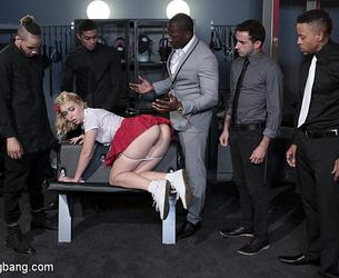[HardcoreGangbang] 2017-09-20 Chloe Cherry aka Chloe Couture (Lazy Submissive Gets Taught a Lesson by Mistress' Studs) (42600) [720p][Mp4]
