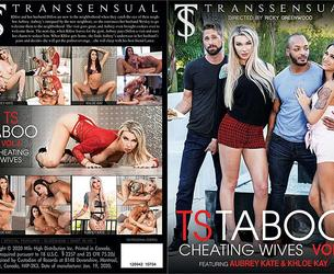 TS Taboo 4: Cheating Wives (Ricky Greenwood, TransSensual)(Aubrey Kate, Khloe Kay) [2020 g., Shemale On Male, Hardcore, Ass Licking, VOD](Split Scenes)