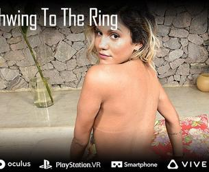 [TranzVR.com] Pati Cameron - Say Schwing to the Ring [2019, Big Tits, Rounded Ass, Cowgirl, Hardcore, Blowjob, Bareback, Shemale, Virtual Reality, 3D, QHD, Gear VR, 1600p]