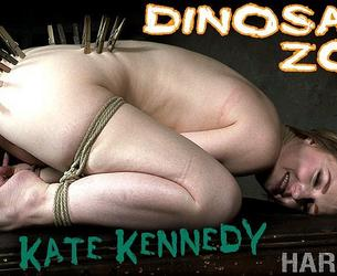 [HardTied.com] Kate Kennedy, London River (Dinosaur Zoo / 22.01.2020) [2020 g., BDSM, Humiliation, Torture, Whipping, 720p]