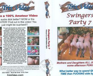 [DixiesTrailerPark.com / TrixVideo.com] Swingers Party #7 - The Pool Party / Swingery #7 Orgiq w bassejne [2007, Amateur, Old Woman, Group, All sex, Black Men, Interracial, Cumshots, SiteRip]