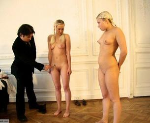 HerFirstPunishment - Russian Slaves 71 Ep 1: Punishment for Smoking (video + picset) - severe