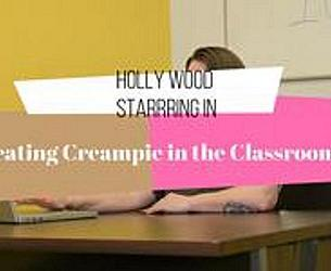 Hot Ass Hollywood - Cheating Creampie in the Classroom.mp4