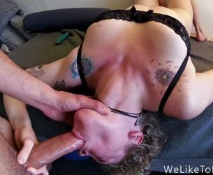Amateur Deepthroat throatfuck pack 3